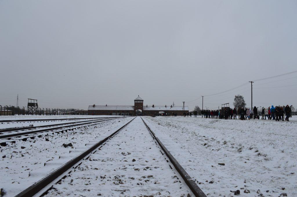 trein naar Auschwitz