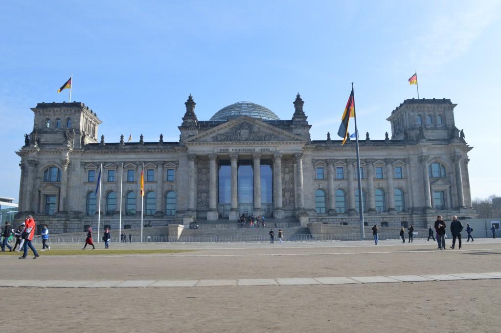Rijksdaggebouw Berlijn