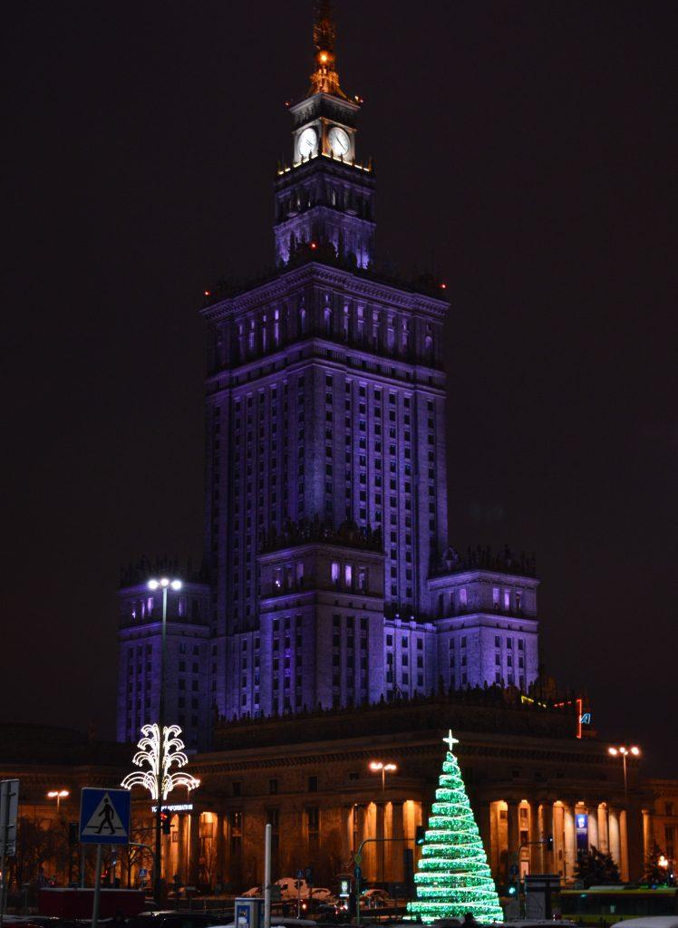 Paleis van Cultuur en Wetenschap Warschau