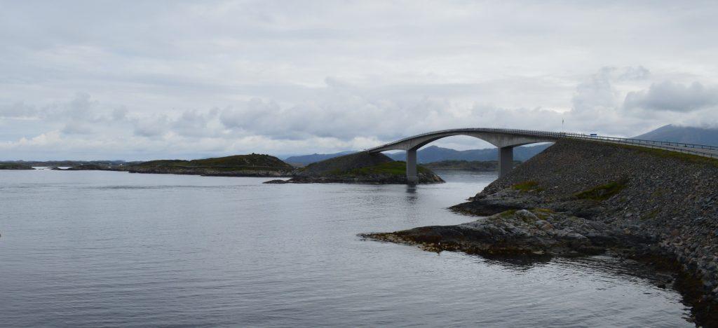 Atlantische weg Noorwegen