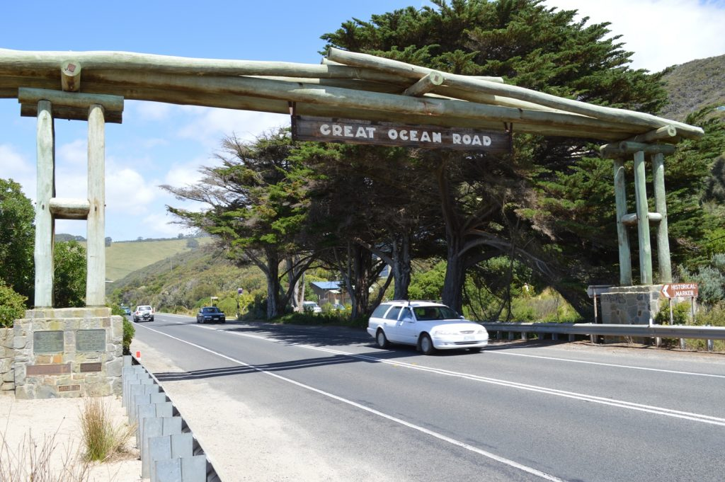 Great Ocean Road start