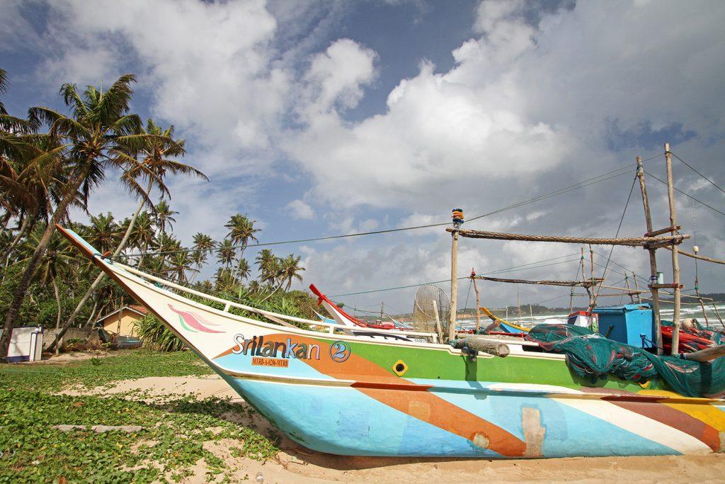 Weligama Strand Sri Lanka